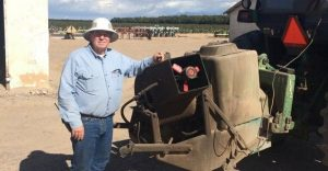 Keith Deputy with equipment